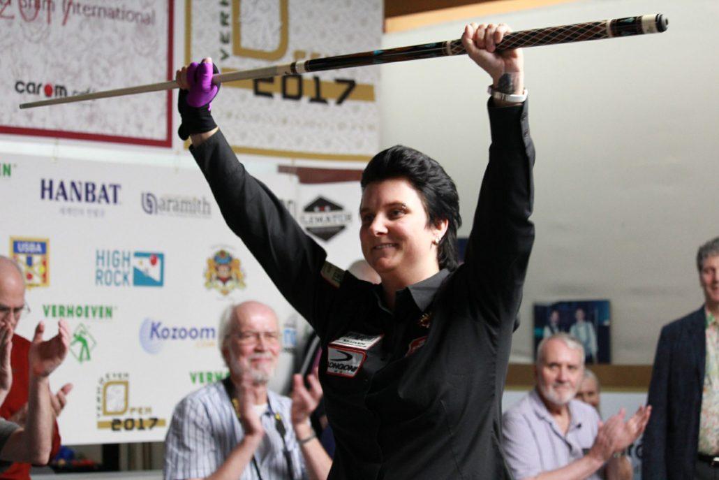 Verhoeven open Women's tournament