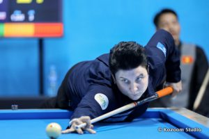 Lausanne Billiard Masters - Therese Klompenhouwer